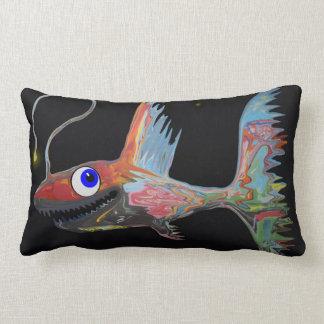 Fish From The Deep Lumbar Pillow