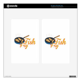 Fish Fry Food Skins For Kindle Fire