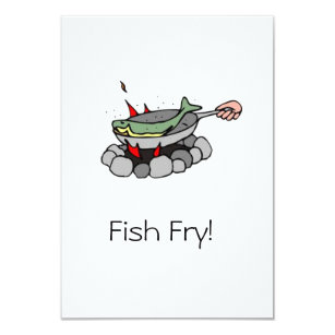 Fish Fry Invitations Announcements Zazzle