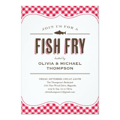 Fishing Theme Party Invitation – Zazzle Party Invitations