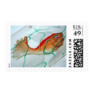 Fish Goldfish Aquarium Postage