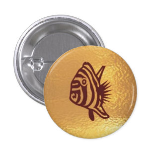 Fish Goldstar Exotic  - Medal Icon Gold Base Button