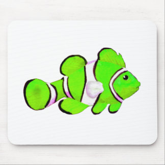 Fish Green Vero Beach 2010 The MUSEUM Zazzle Gifts Mouse Pad