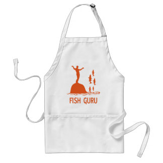 Fish Guru Adult Apron