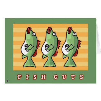 fish guts card