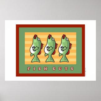 fish guts posters