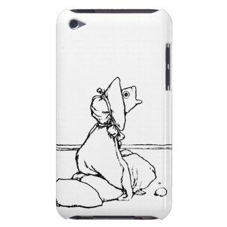 Fish Head Doll iPod Case-Mate Case