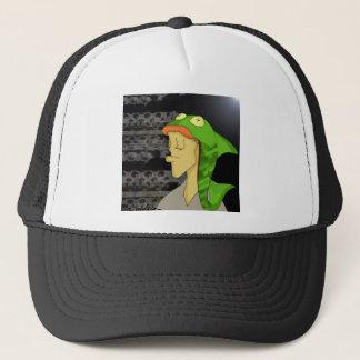 Fish head trucker hat