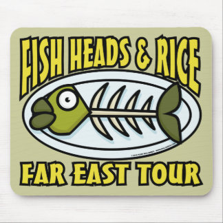 Fish Heads and Rice Mousepad