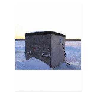 Fish House on Sugar lake. Post Cards