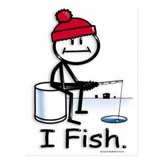 Fish:ice Postcard