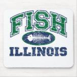 Fish Illinois Mouse Pad