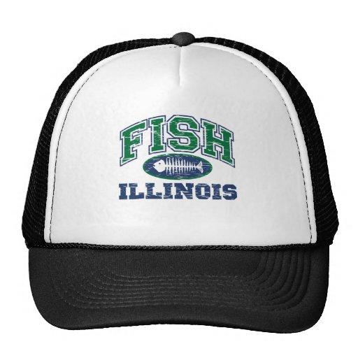 Fish Illinois Trucker Hats