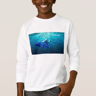 Fish Image for Kids'-Long-Sleeve-T-Shirt T-Shirt