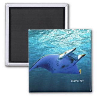 Fish Image for Square-Magnet Magnet