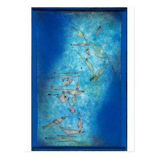 Fish Image - Paul Klee Postcards