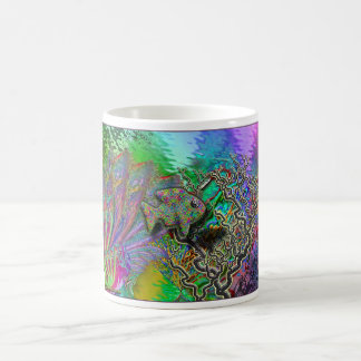 Fish in a Coral Reef - Fantasy Classic White Coffee Mug