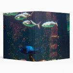 Fish in Aquarium Vinyl Binder