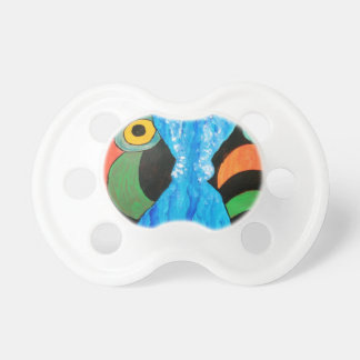 fish in conversation baby pacifiers