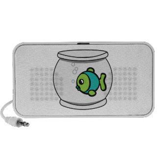 Fish In Fishbowl Mp3 Speaker