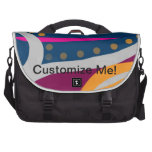 Fish in Love Abstract Commuter Bags