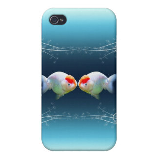Fish in love iPhone 4/4S cover