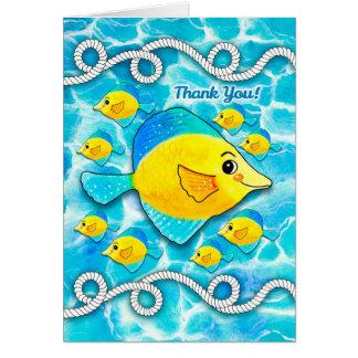 Fishing Thank You Greeting Cards Zazzle