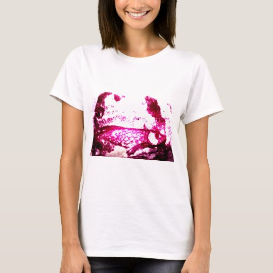 fish in pink T-Shirt