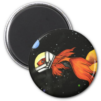 Fish In Space Magnet