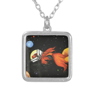 Fish in Space! Necklace