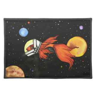 Fish in Space! Placemats
