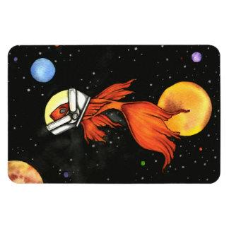 Fish in Space! Premium Flexi Magnet