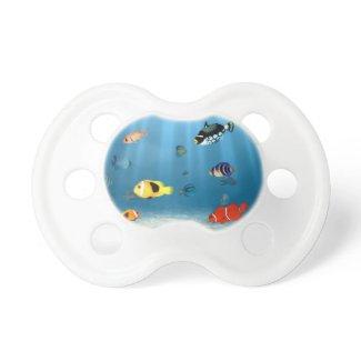 Fish In The Ocean Baby Pacifiers