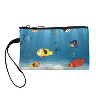 Fish In The Ocean Coin Wallet
