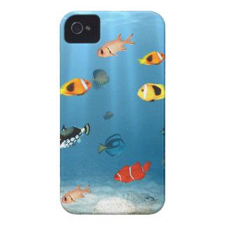 Fish In The Ocean iPhone 4 Case-Mate Case