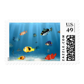 Fish In The Ocean Postage