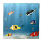 Fish In The Ocean Tile