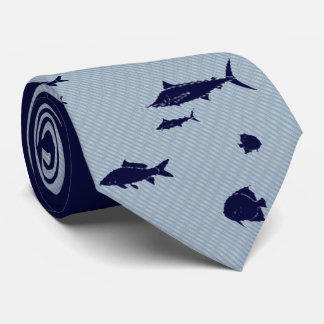 fish in the sea fishing tie