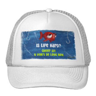 Fish Is Life Hard Trucker Hat