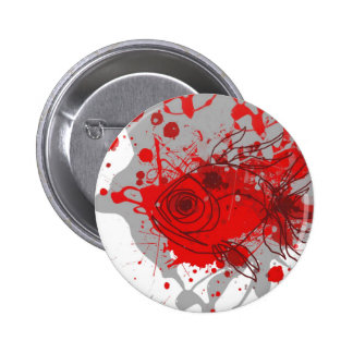 fish JPEG Gris-rojo Pin