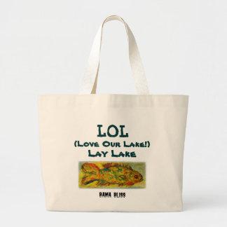 Fish Jumbo Tote Bag LOL Lay Lake