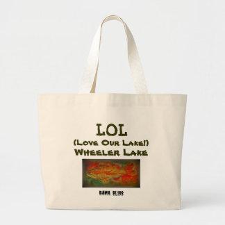 Fish Jumbo Tote Bag LOL Wheeler Lake