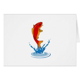 FISH JUMPING CARDS