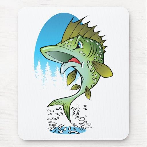 Fish Jumping Mouse Pad
