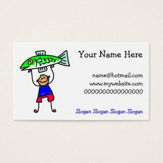 Fish Kid Business Card