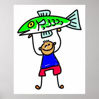 Fish Kid Poster