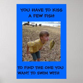 FISH KISS POSTER