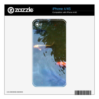 Fish, Koi Carps in pond iPhone 4S Decals