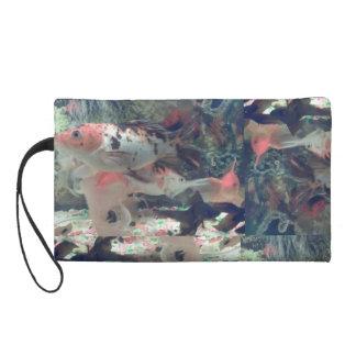 Fish Koi Wristlet
