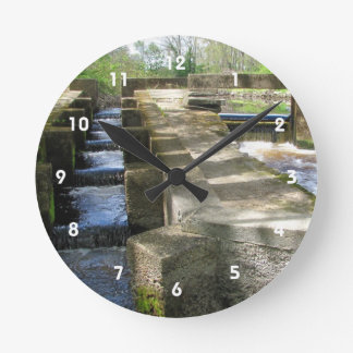 Fish Ladder ~ clock